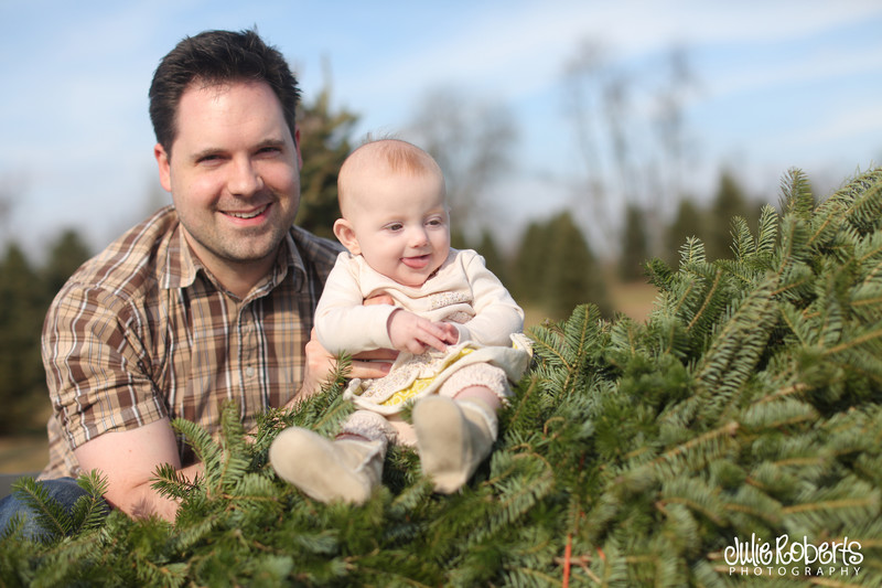 The holidays with baby Eleanor ... And Merry Christmas!, Julie Roberts Photography
