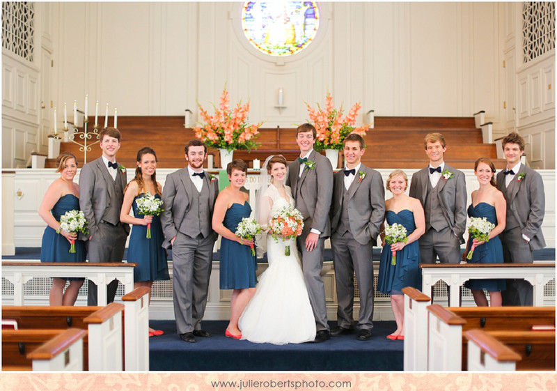 Heather Stamper and Scott Brabon :: Married at Asbury Seminary :: Wilmore, Kentucky Wedding, Julie Roberts Photography