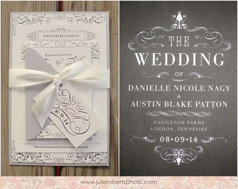 Danielle Nagy and Austin Patton\'s gorgeous, glamorous, Castleton ...